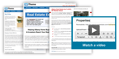 Take Full Control Over Your Real Estate Investor Website