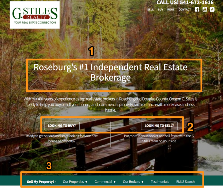 real estate agent website builder