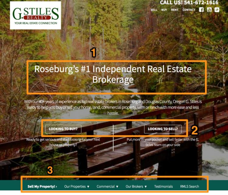 real estate agent website builder