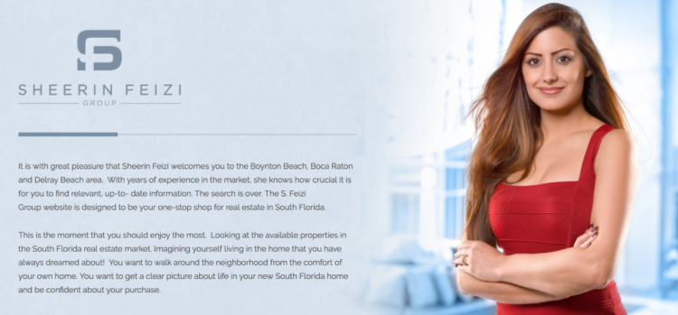 about page on Real Estate Agent Websites