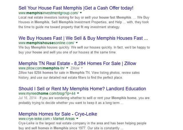 InvestorCarrot Websites-Memphis