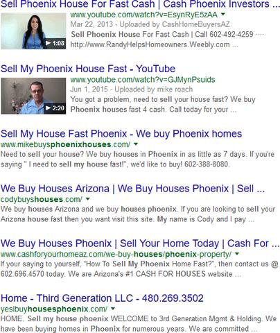 InvestorCarrot Websites PHX
