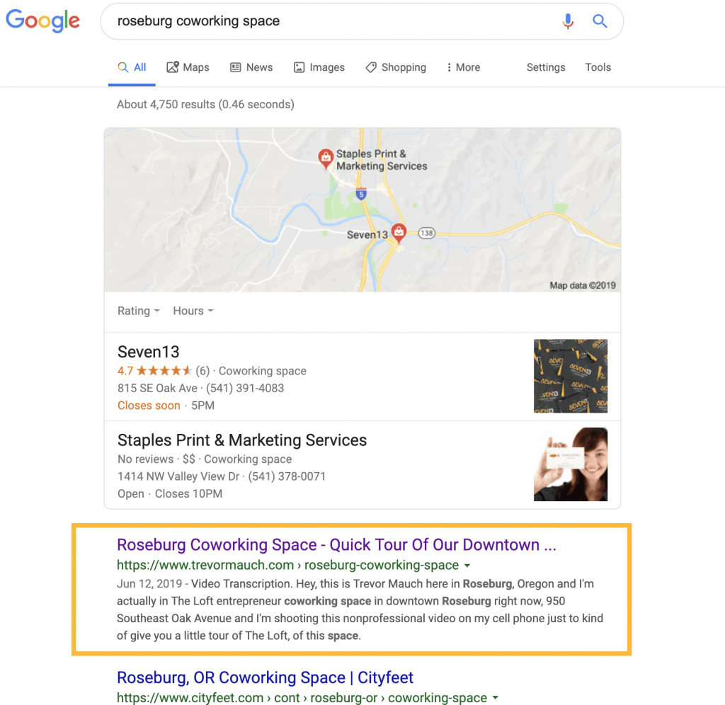 how to rank number one in google using videoposts