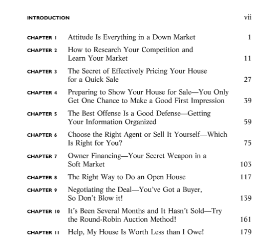 Book's Table of Contents