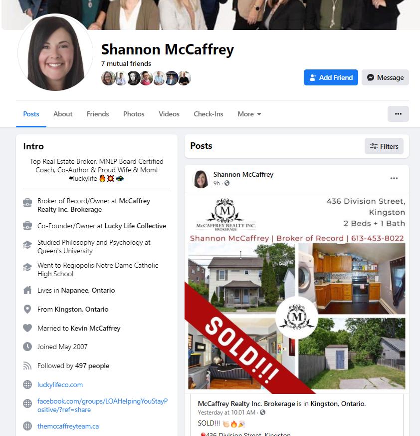 FB Agent Profile