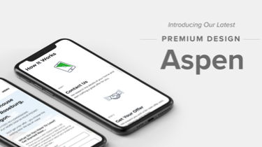 Meet Aspen | Our Latest Premium Design