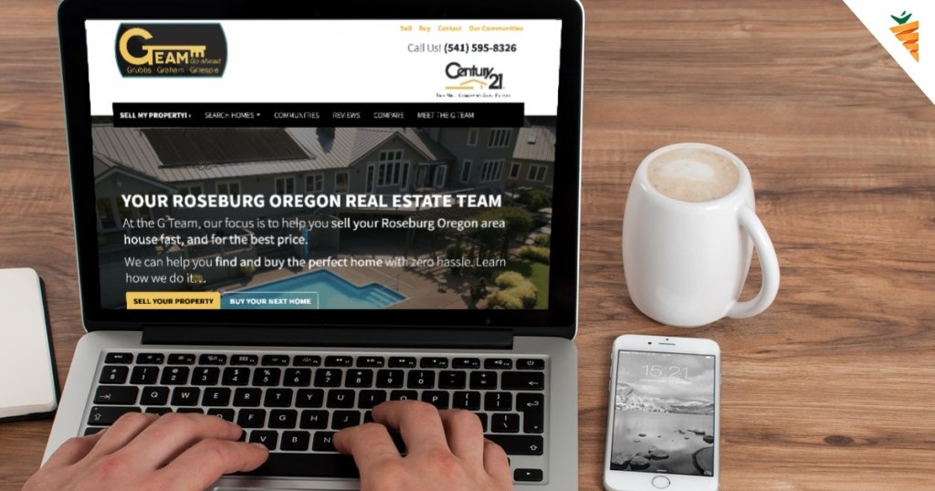 G Team Carrot Realtor Website