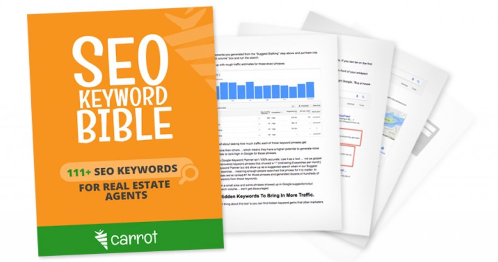 111 seo keywords for real estate agents