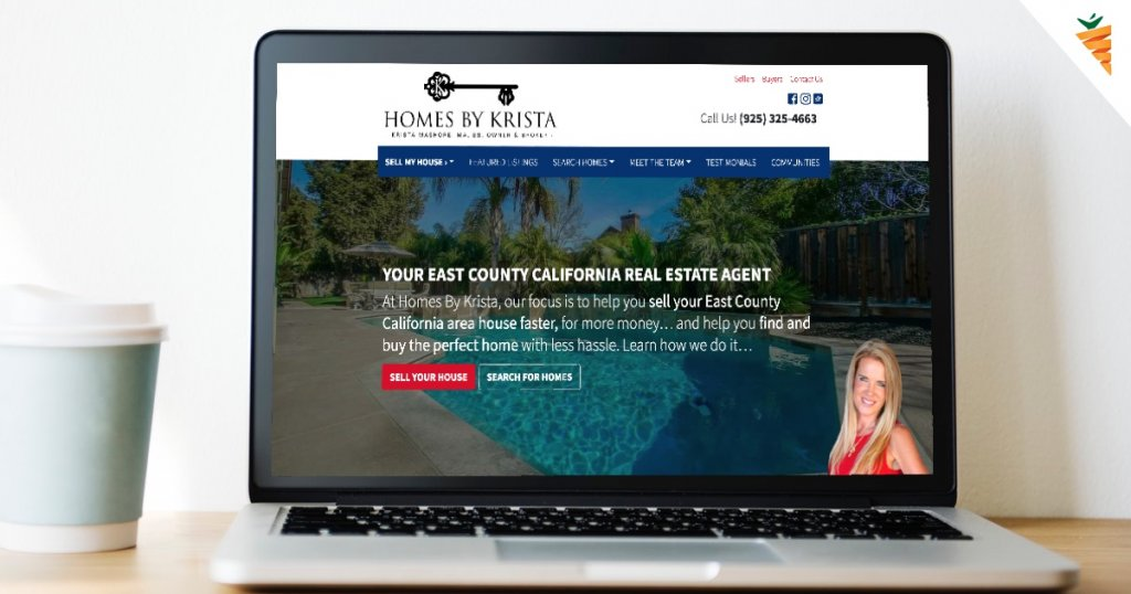 Homes By Krista Carrot Real Estate Website