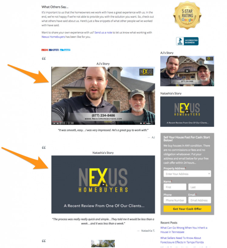 Real estate investing: Nexus Homebuyers