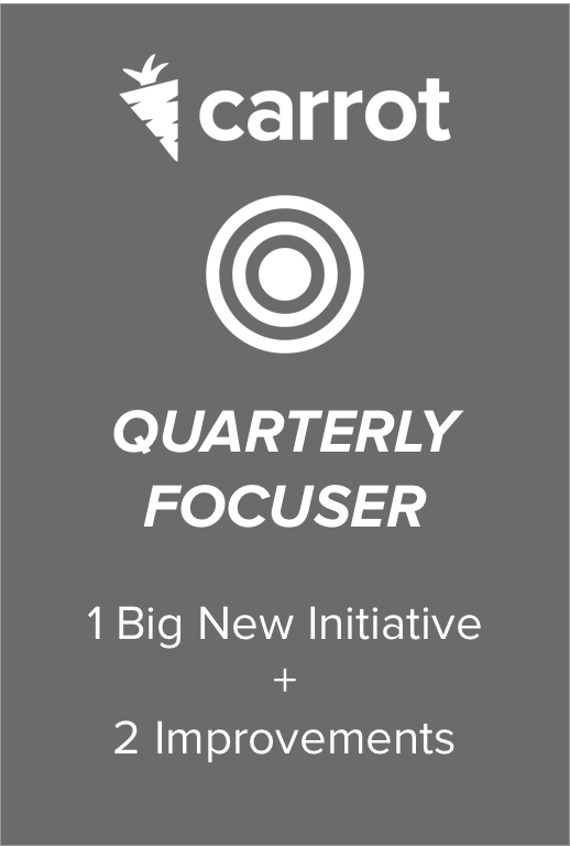 Quarterly Focuser