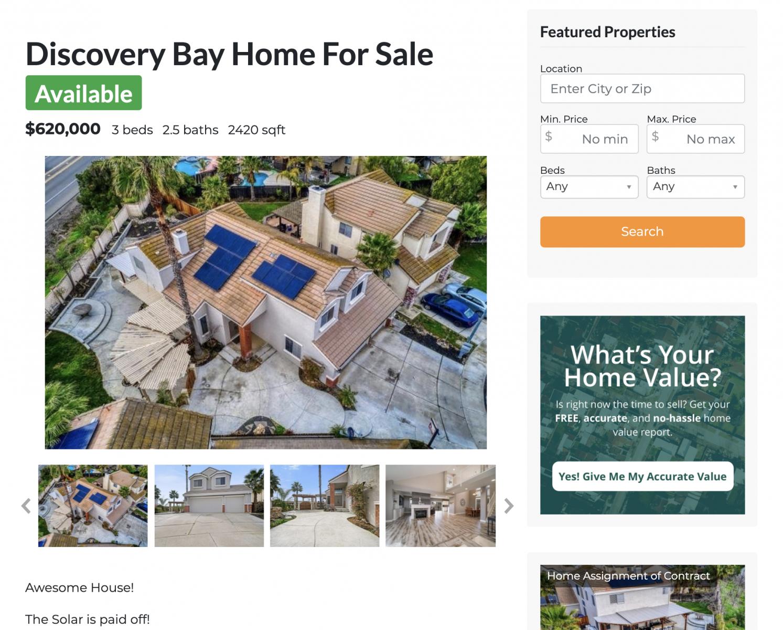 Real-estate-agent-website-idx