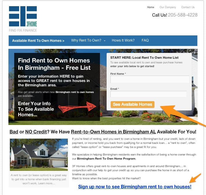 Home Rental Websites: [NEW] See Our Rent To Own Website Template For Real Estate