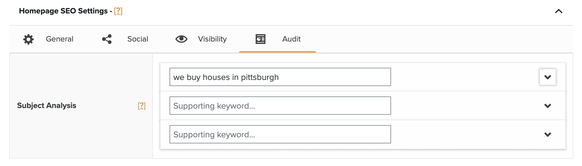 Carrot SEO for real estate tool
