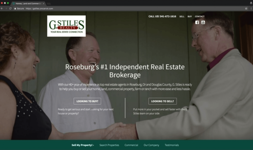 AgentCarrot Real Estate Agent Websites