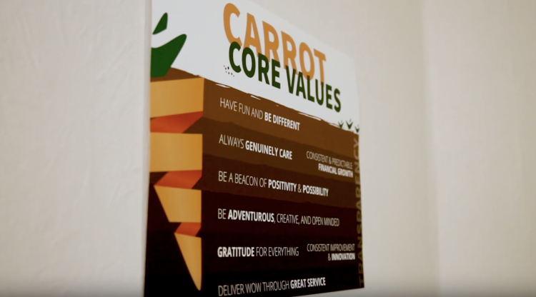 Carrot Core Values
