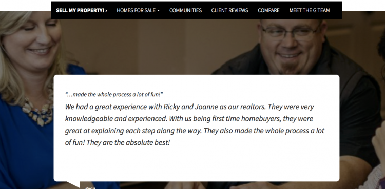 real estate agent testimonials