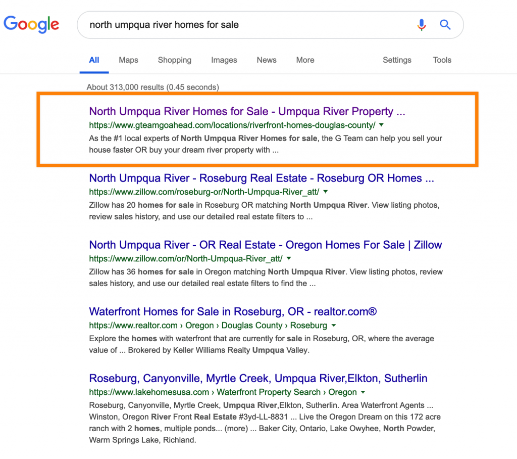 Beating Zillow at SEO
