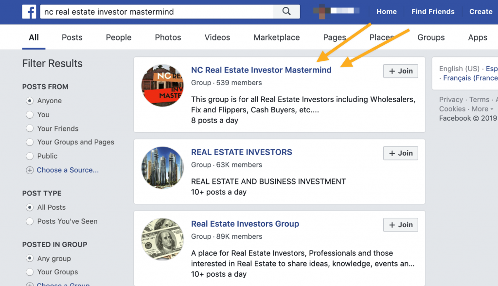 Using Local Facebook Groups to Find Buyers