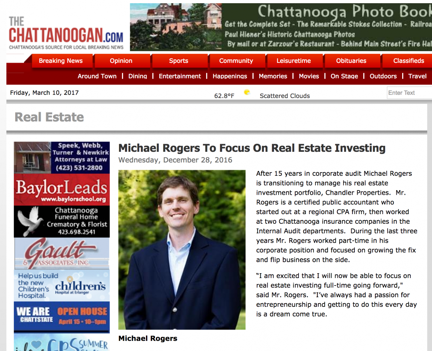 Full Time Real Estate Investor Focus