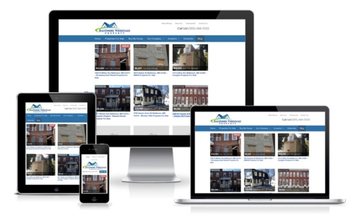 real estate investor mobile websites