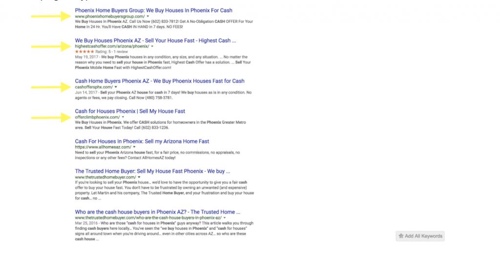 real estate websites url length