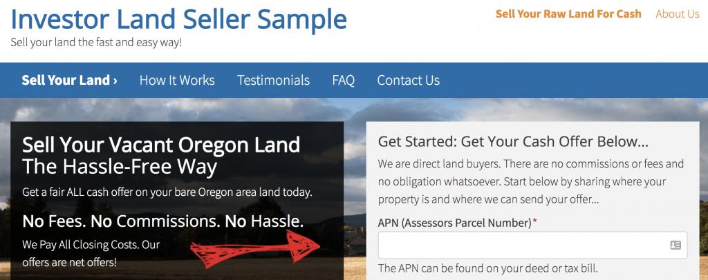 Carrot land seller websites