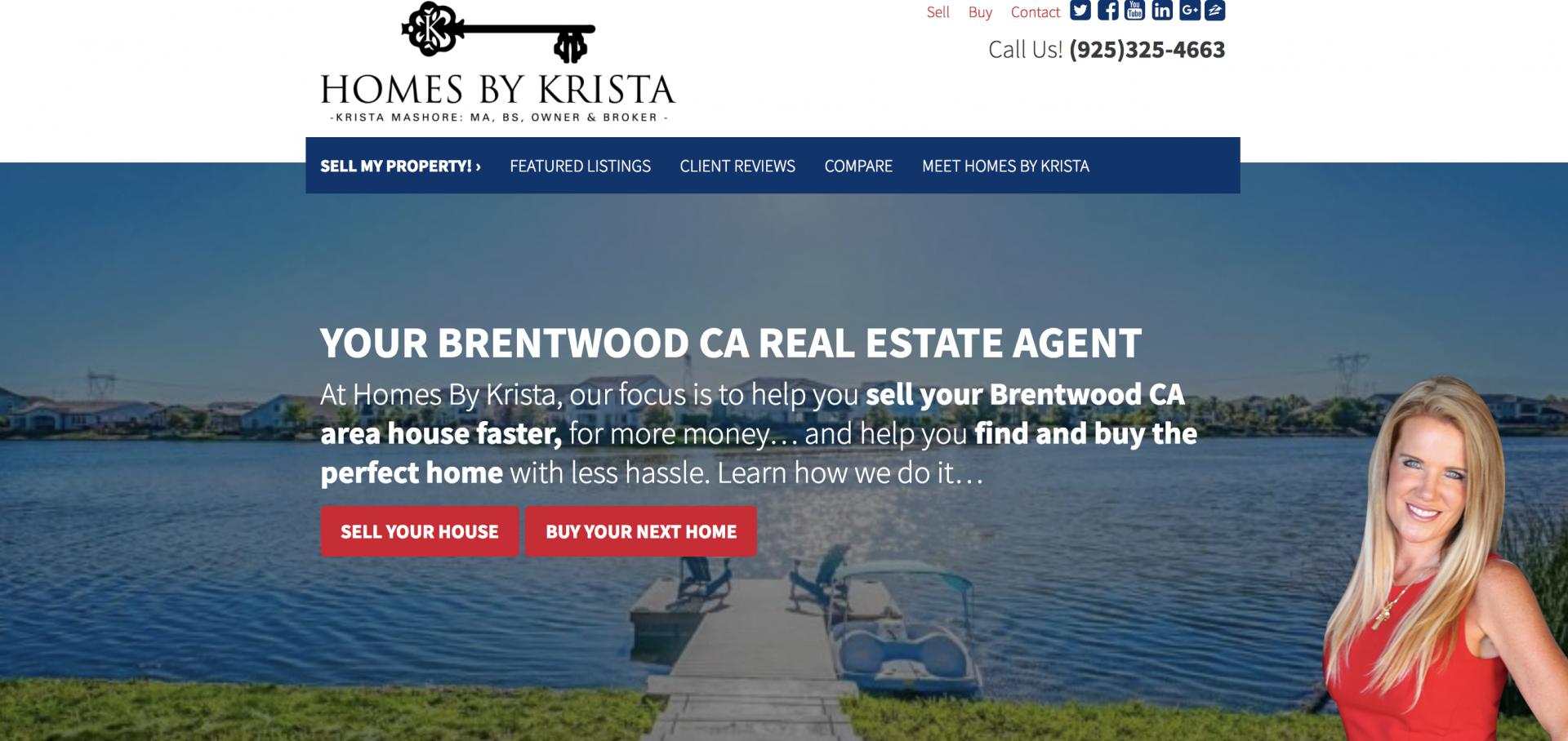 Krista Mashore AgentCarrot Website