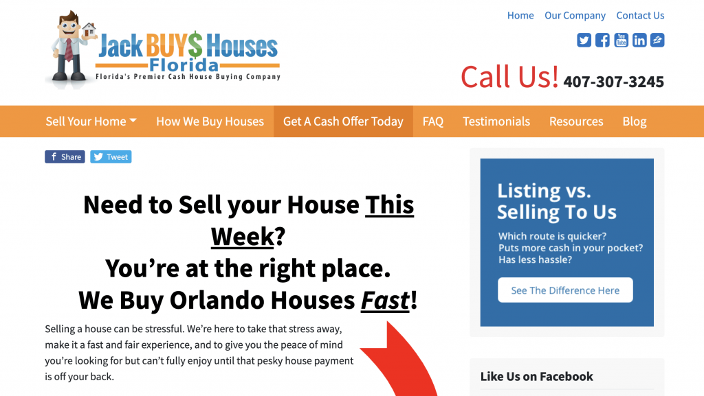 SEO for real estate case study