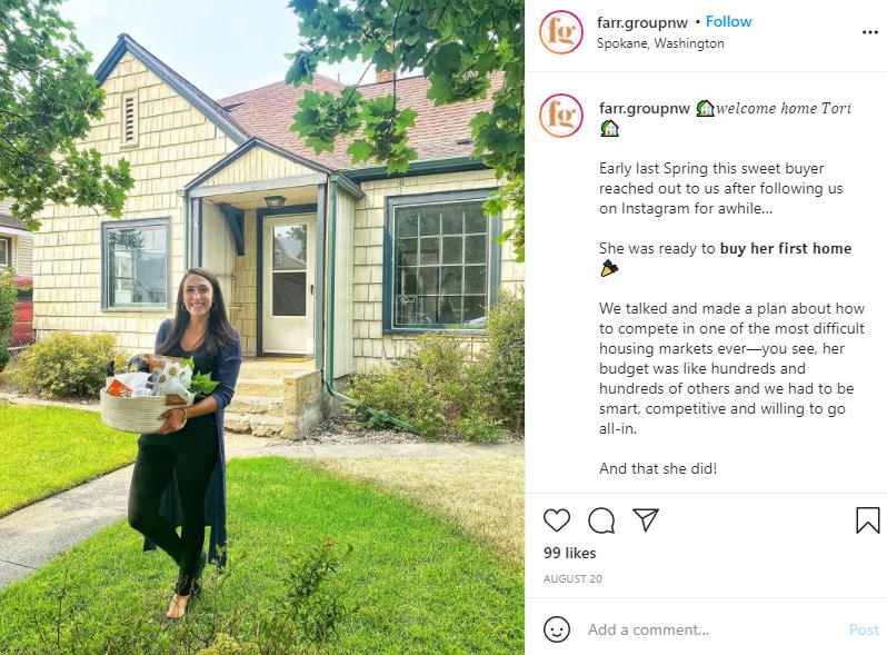 Storytelling Instagram Post