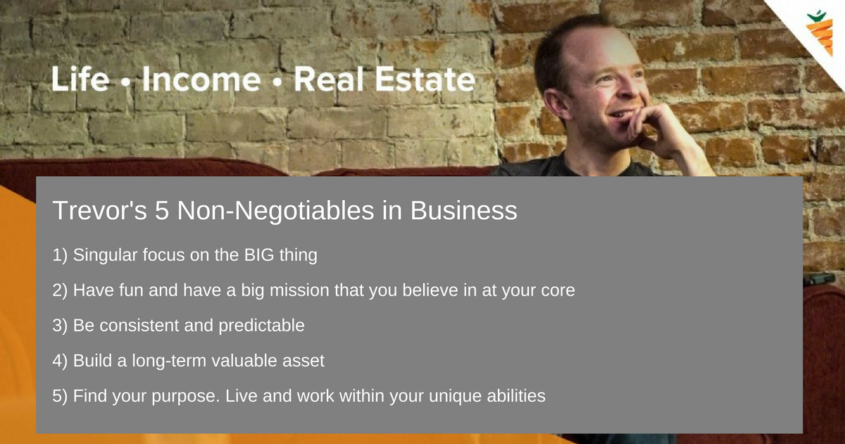 non-negotiables in business and life