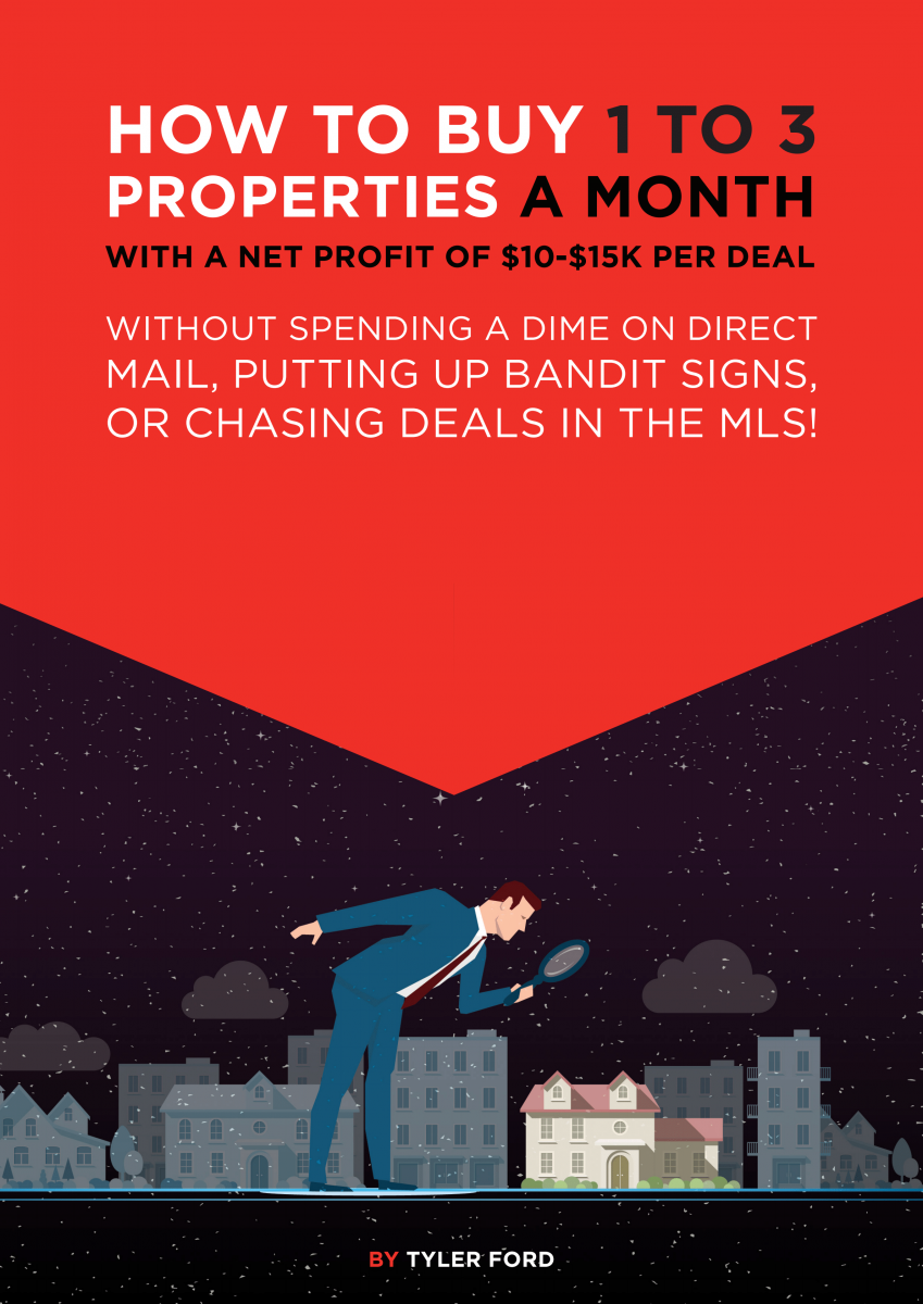 how to buy 1 to 3 properties a month