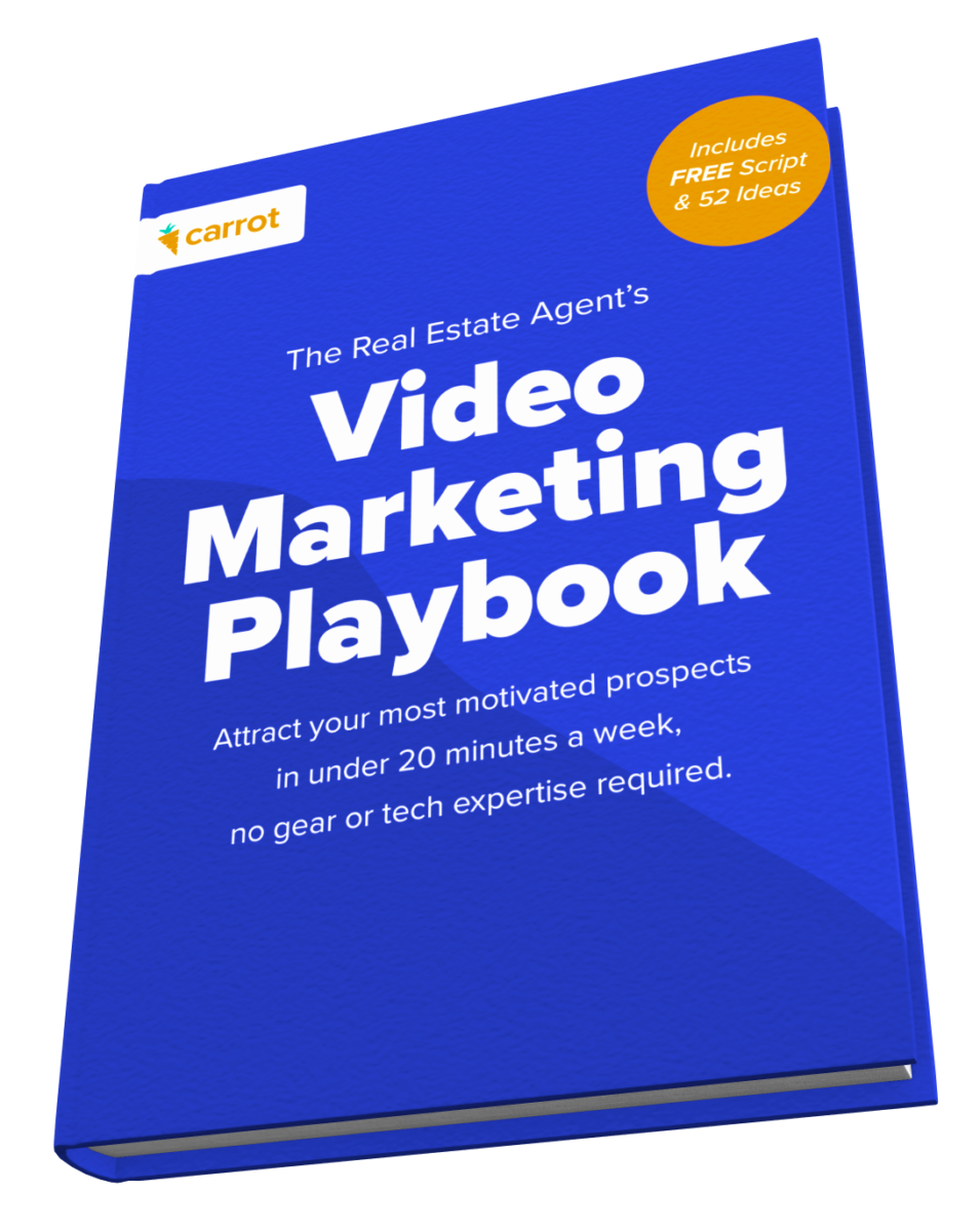 The Real Estate Agent's Video Marketing Playbook cover