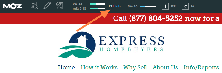 backlinks to express homebuyers