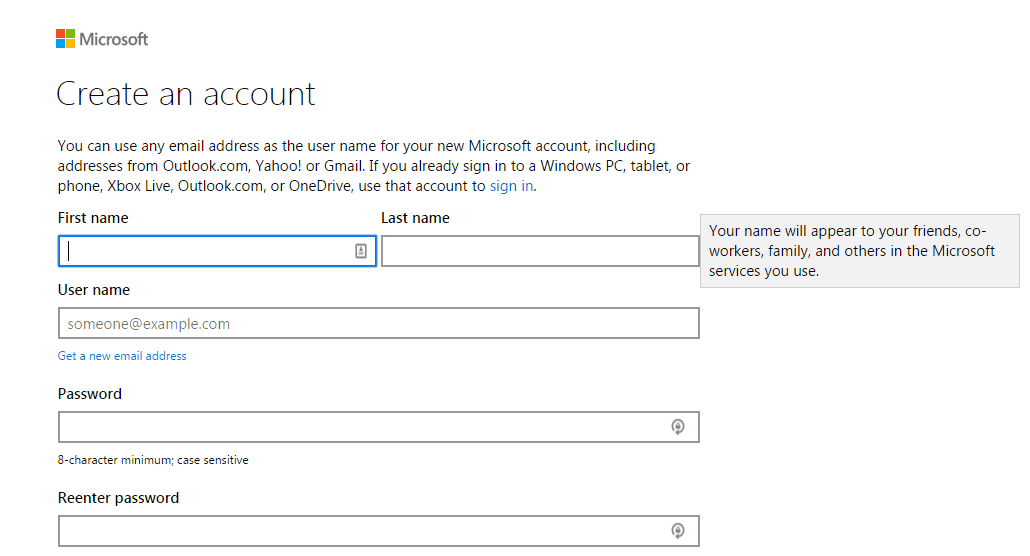bing ads account step 5
