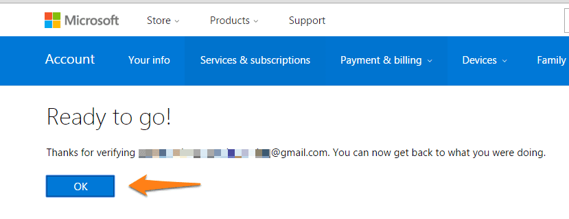bing-ad-account-email-verification-after