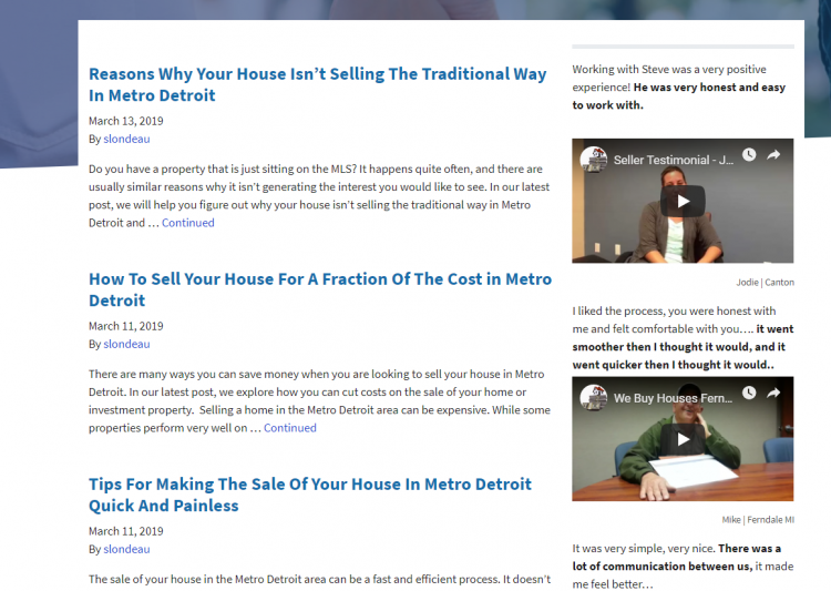 real estate investor blog posts