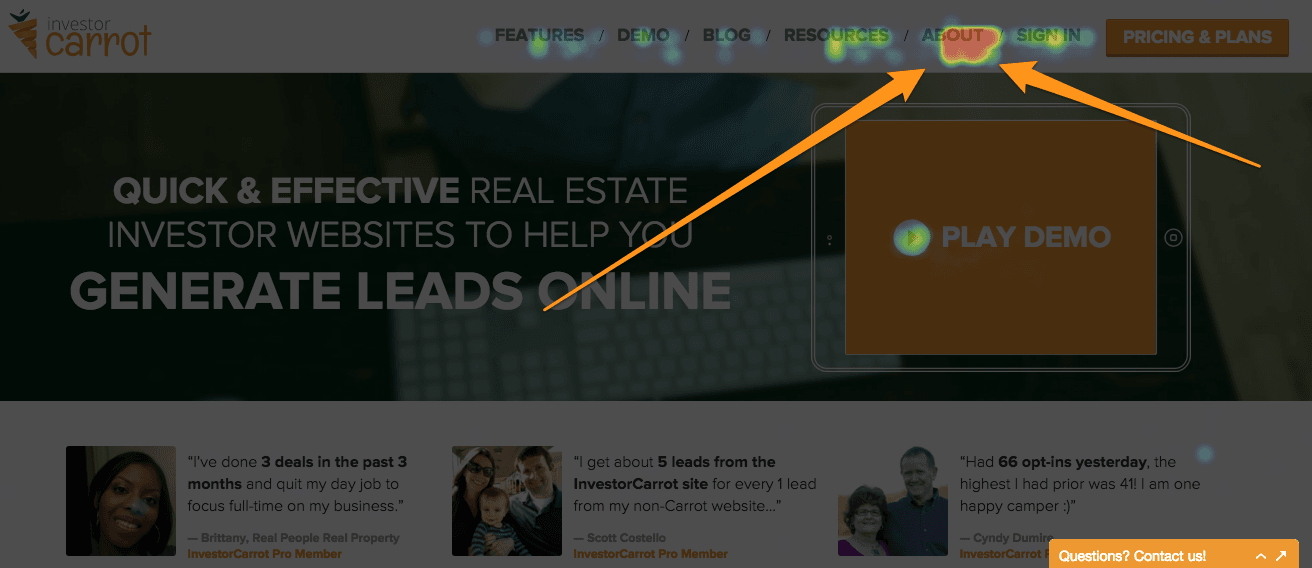 how to write a good about page for your real estate website