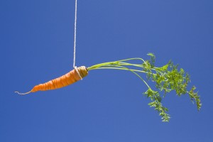 carrot-on-stick