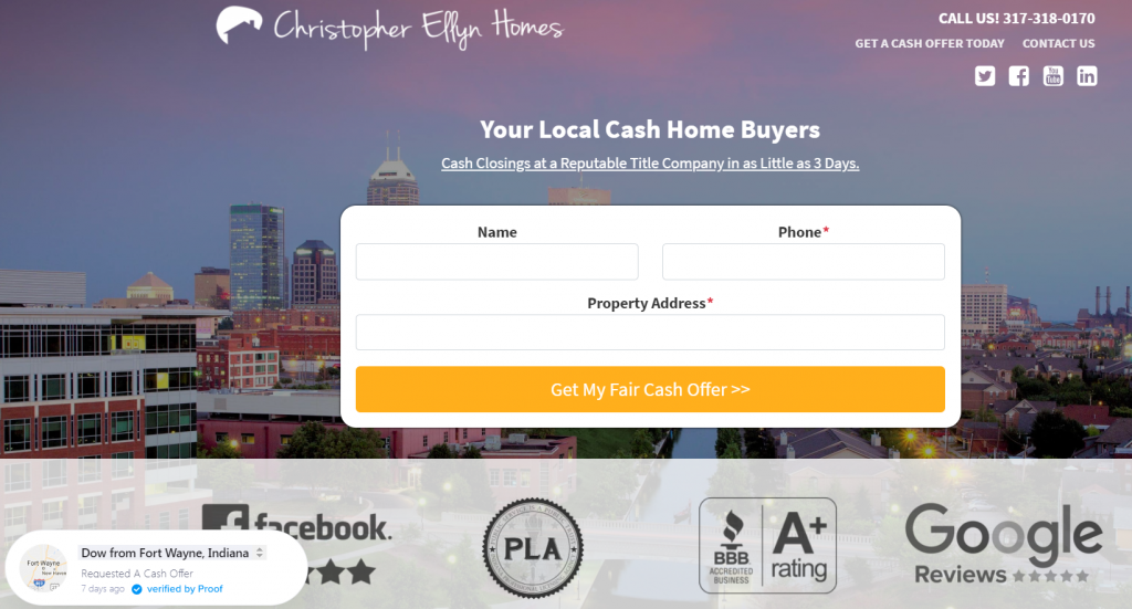 Christopher Ellyn Homes - Carrot Site