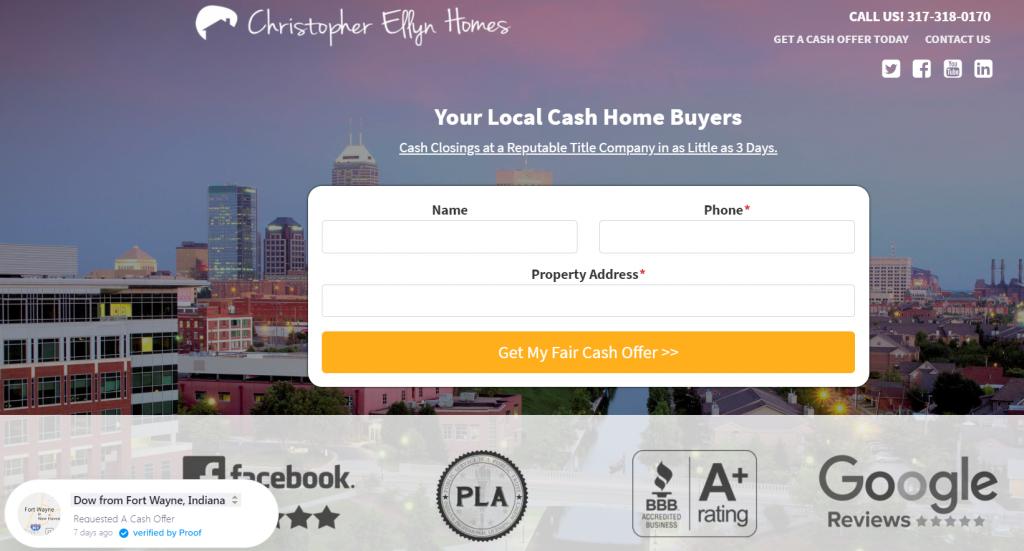 Christopher Ellyn Homes - Carrot Site