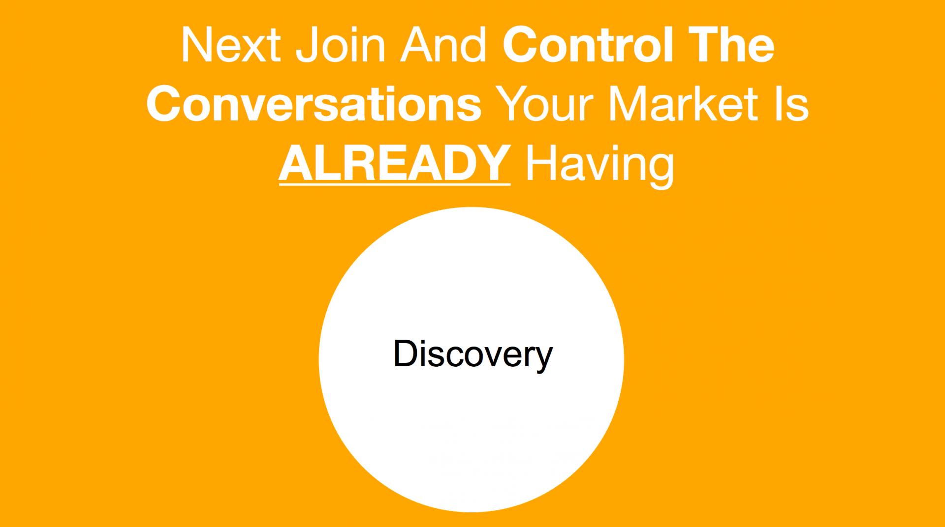 conversation marketing discovery