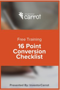 16 point conversion checklist download