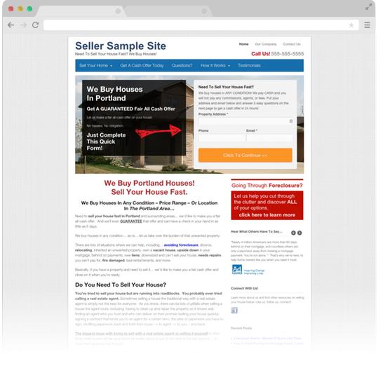 Carrot Websites Convert Leads