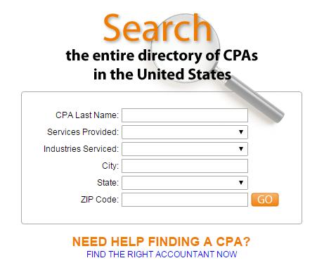 Find Local CPA's