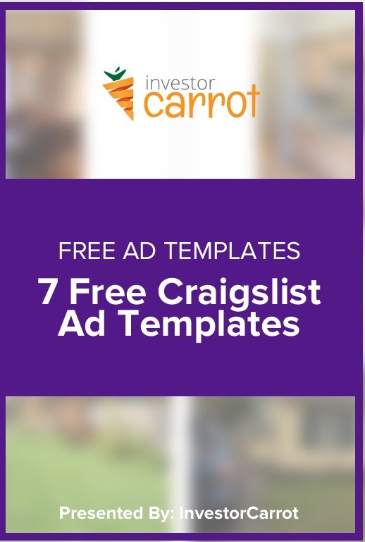 Free Craigslist Ad Templates For Real Estate Investors