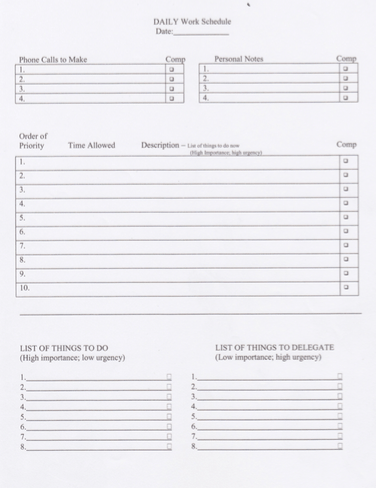 photo about Daily Sheet identify My Every day Productiveness Worksheet - Carrot