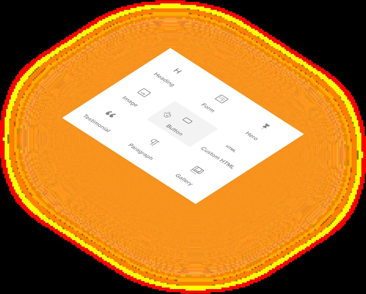 Visual editor block inserter