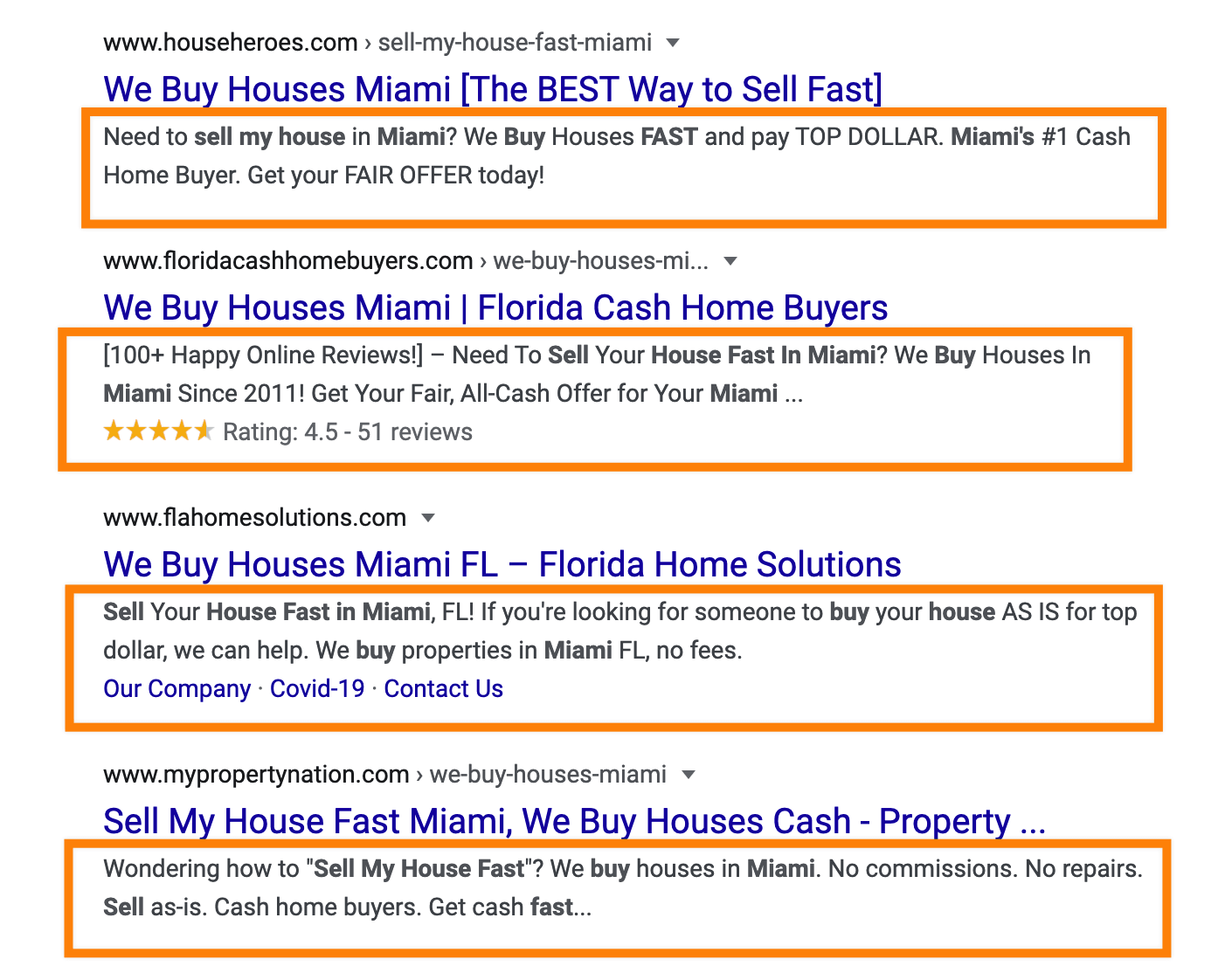 real estate meta description examples