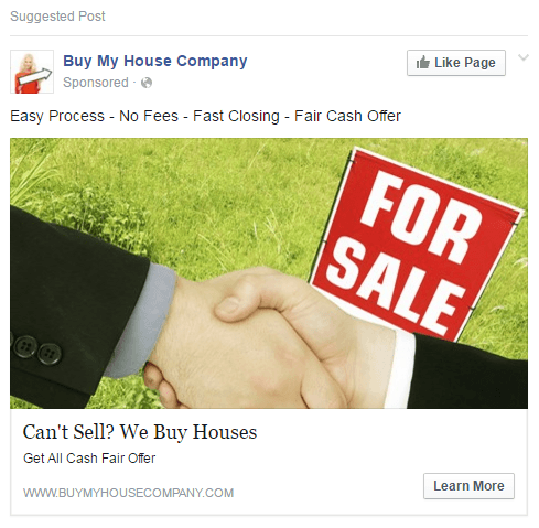 facebook-retargeting-newsfeed-buymyhouse-company-ad-2